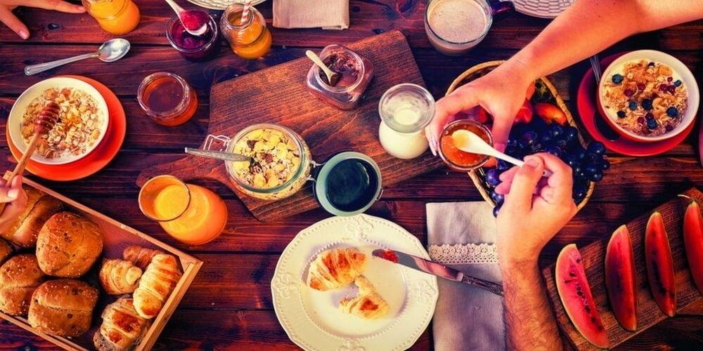 Petit déjeuner Blind Weekend